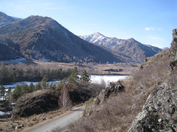 Горный Алтай в мартей