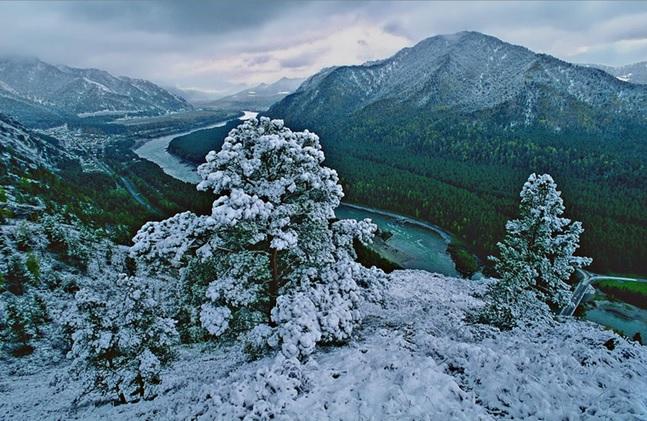 Горный Алтай в ноябре