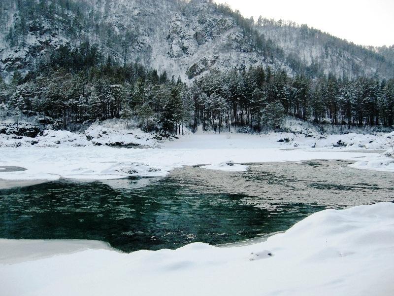 Горный Алтай в январе