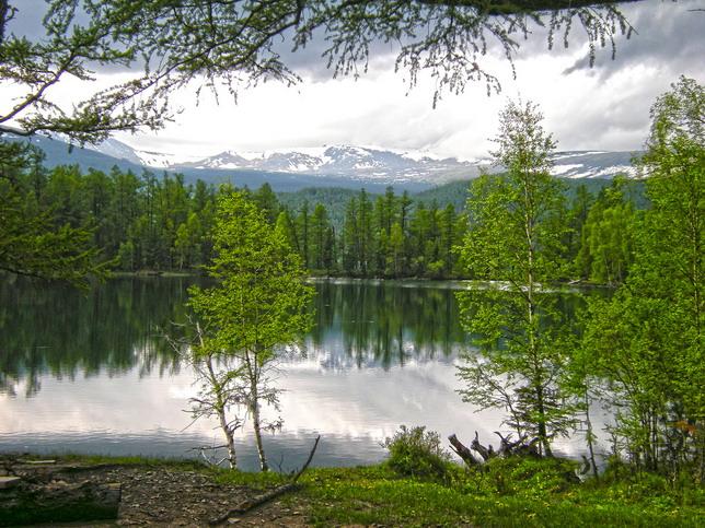 Озеро Ару-Кем (Арыгемское) летняя экскурсия