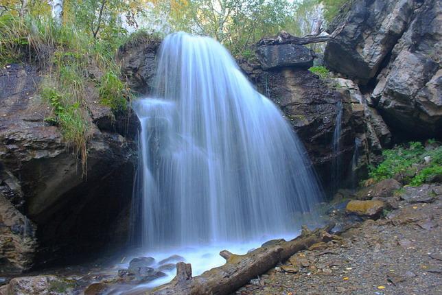 Чечкыш водопад - Экскурсии по Горному Алтаю