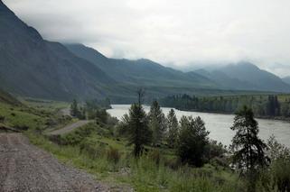 Дорога на водопад Бельтыртуюк